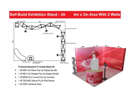 Self-Build Exhibition Stand 3A
