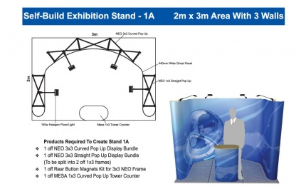 Self-Build Exhibition Stand 1A