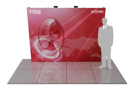 EDGE SEG 4x3 Straight Pop Up Display