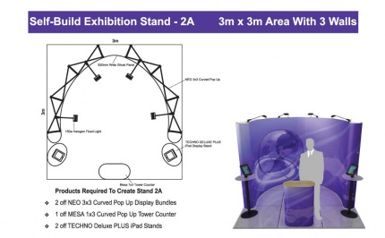 Self-Build Exhibition Stand 2A